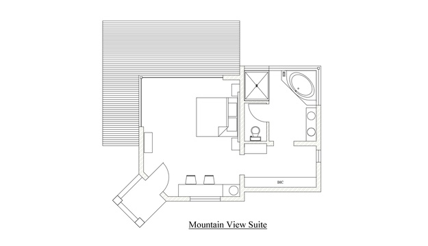 Mountain View Site,  House Layout, mvangati House